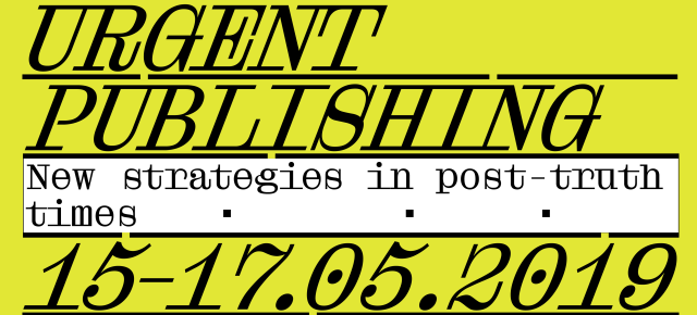 """""""All Sources are Broken"""" A Post-digital Reading Group Workshop at """"Urgent Publishing"""" conference"""