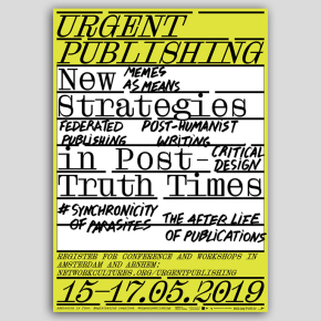"""All Sources are Broken"" A Post-digital Reading Group Workshop at ""Urgent Publishing"" conference"